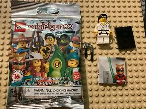 Lego Minifigures Series 20 (71027-10) Martial Arts Boy - BRAND NEW - IN HAND!!!