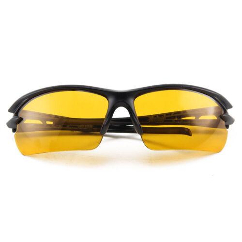 Conduite de nuit anti reflets Vision HD Lunettes de prévention Jaune Lunettes de soleil