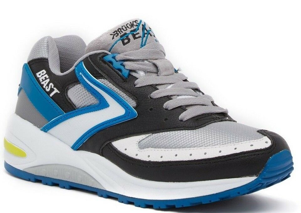 NIB Brooks noir Futuristic Beast Basket Chaussures hommes Chaussures Basket noir 7b0044