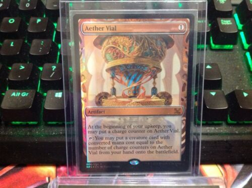 Aether Vial Mtg Masterpiece Series Kaladesh Magic The Gathering