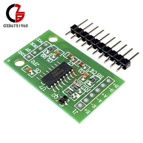 10PCS HX711 Weighing//Pressure Sensor 24 Bit Precision A//D Dual Channel Module