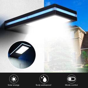 144-LED-de-energia-solar-sensor-de-movimiento-jardin-seguridad-lampara-exterior
