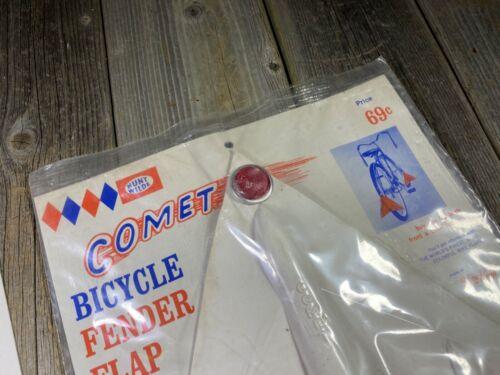 X2 VINTAGE BIKE BICYCLE COMET FENDER MUD FLAP HUNT WILDE MUDFLAP MUD MUDGUARD