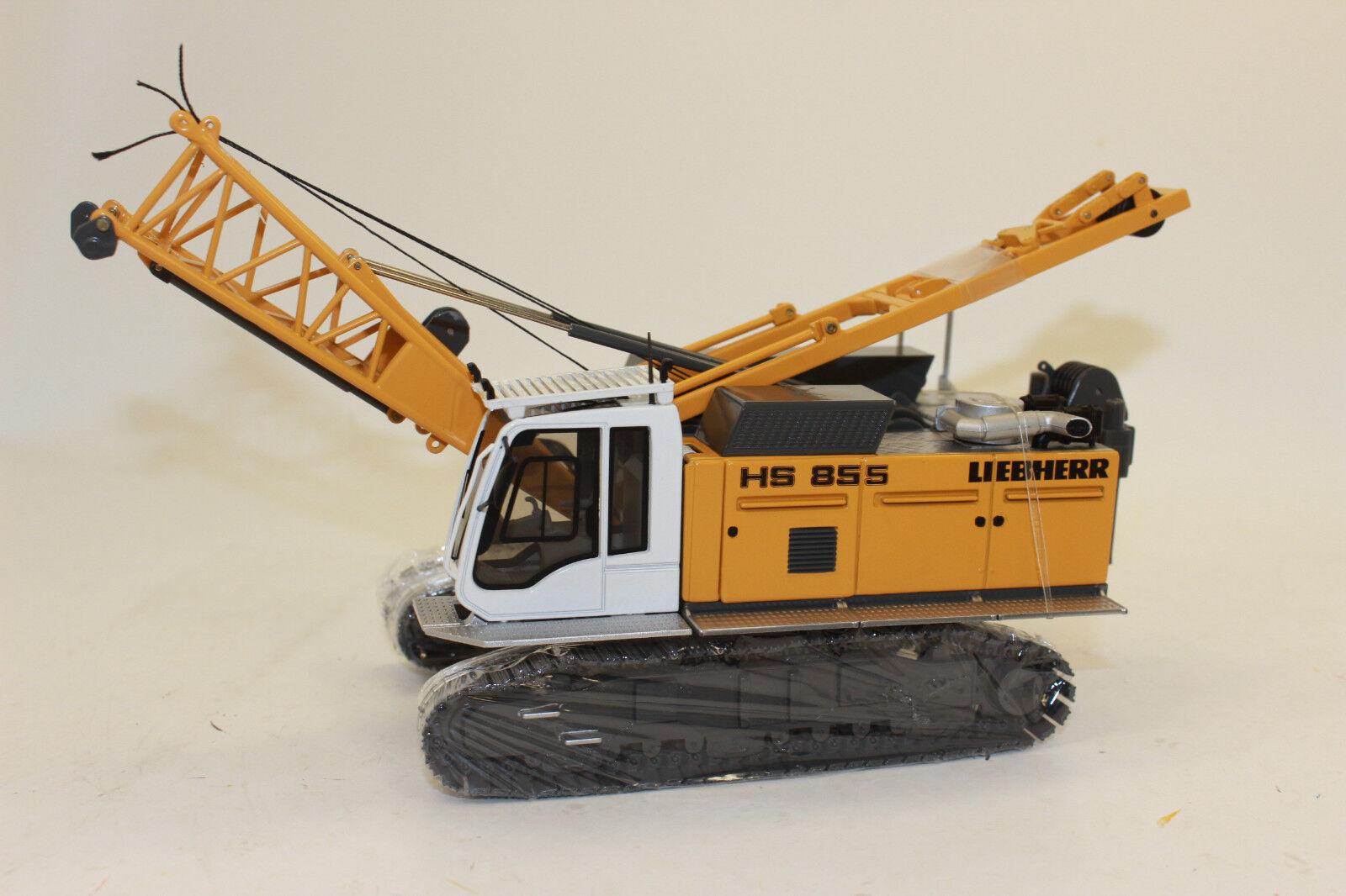 NZG 728 Liebherr HS 855 HYDRO Crawler Crane 1 50 NEW BOXED