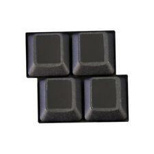 HQRP Pegatinas negras educativas no transparantes para teclados de ordenador