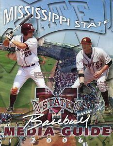 2006 Mississippi State University Baseball Media Guide Mitch Moreland Ed Easley