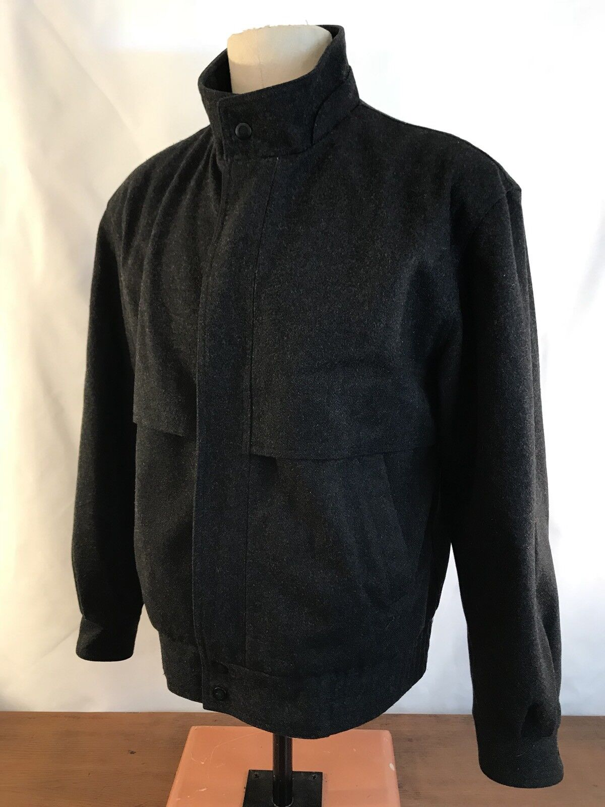 Members Only Wool Blend Winter Coat Mens Size Medium 40 (SWW1)