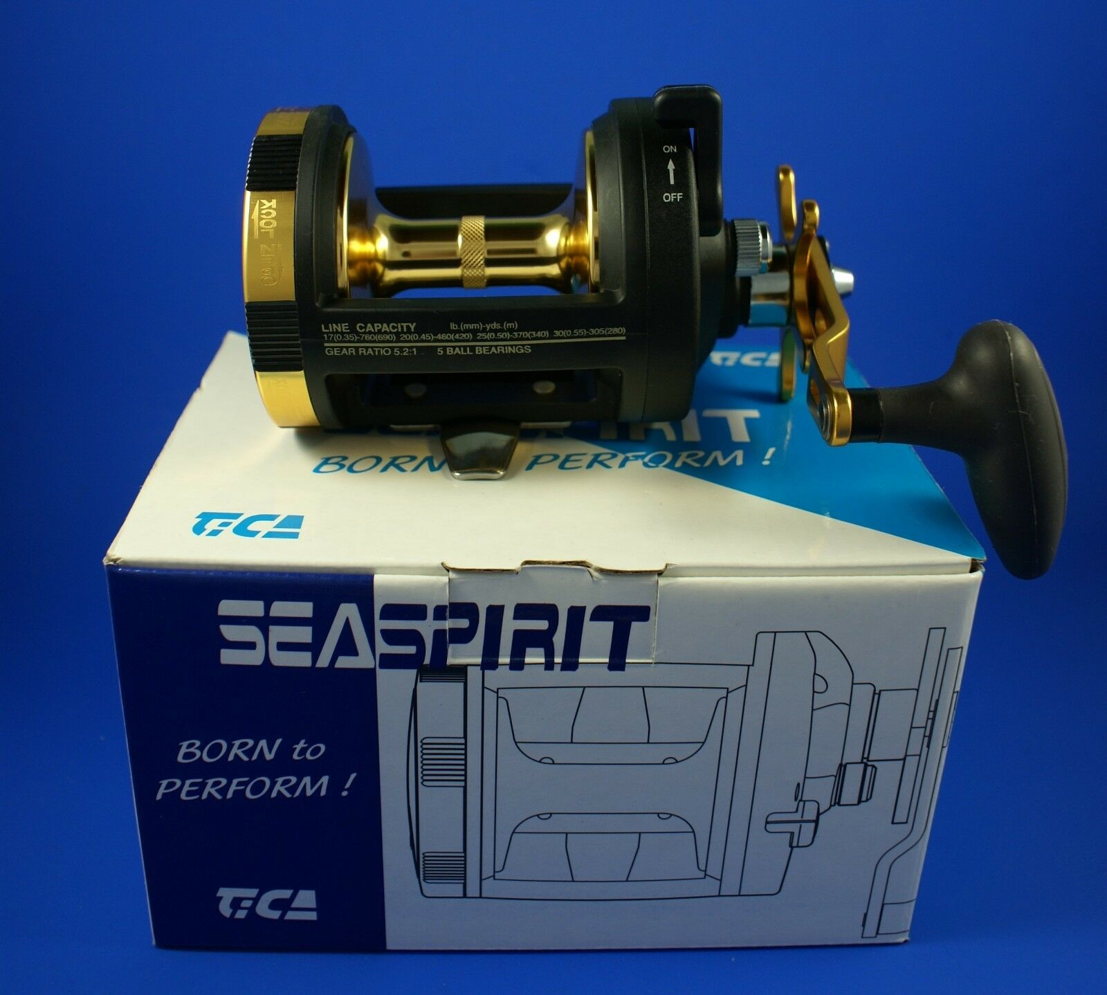Tica Seaspirit SS558R V Sea Fishing Reel