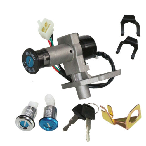 50cc 150cc GY6 Chinese Scooter Moped 2X Key Ignition Switch Lock Set Gas Cap Kit