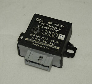 Orig-Audi-A4-8E-A6-4F-Steuergeraet-LWR-Xenon-Leuchtweitenregulierung-8P0907357B