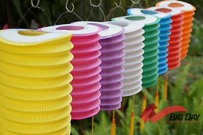 8 Paper Lantern Wedding/Party Decor 16CM Optional Color