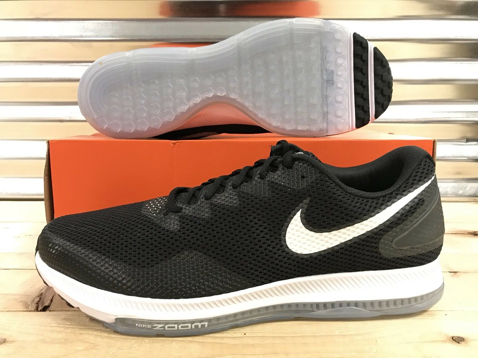 Nike Zoom All Out Low 2 Running Shoes Black White Oreo Anthracite ( AJ0035-003 )