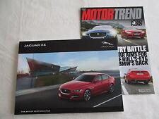 2016 Jaguar XE Big Brochure Premium Prestige R-Sport Supercharged Sales Catalog