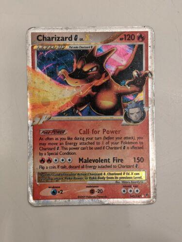 Pokemon Charizard G LV.X HOLO Platinum Supreme Victors #143/147 Ultra Rare