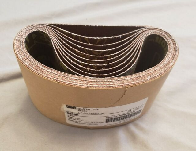 3 1//2 X 15 1//2 Inch 24 Grit Silicon Carbide Sanding Belts 4 Pack