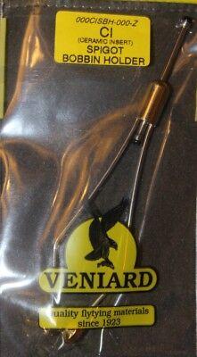 Fly tying Veniard céramique tube ou Insérez Bobine Support