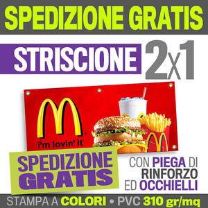 2x1-STRISCIONE-PUBBLICITARIO-striscioni-pvc-teloni-banner-telone-scritta-dj-8011