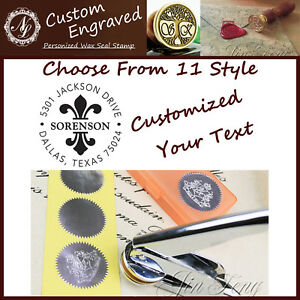 Custom Made Your Design Logo Hand Held Seal Press Paper Embosser