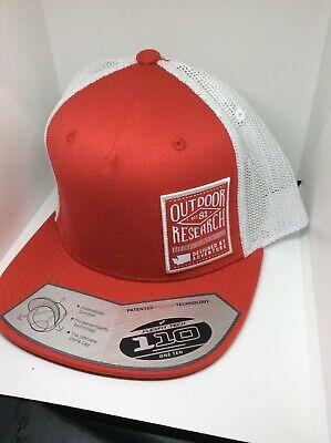 Tasc Performance  Mesh Snapback Trucker Hat Cap Green Grey