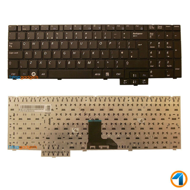 Samsung R540 Jt03 Black Uk Layout Replacement Laptop Keyboard For Sale Online Ebay