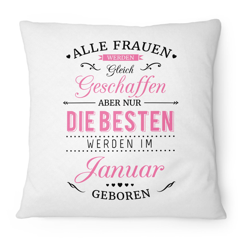 Geburtstag Sitzkissen 40 Kissen 40x40 Geschenk German Powergirl 40 Jahre