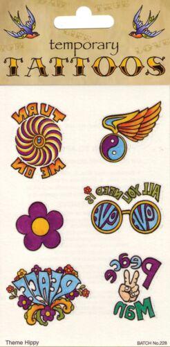 New Tattoos Theme 70/'s 6//card