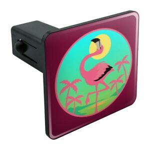 Flamingo-Palm-Trees-Tropical-Vacation-Tow-Trailer-Hitch-Cover-Plug-Insert
