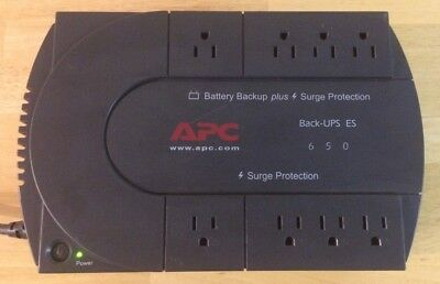 365 J 8 Outlets APC BE650G1 BE650G1 Back-UPS ES 650 Battery Backup System 650VA