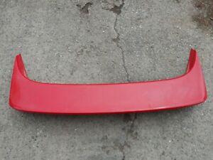 Toyota-MR2-2-0-GTI-16-V-1993-Mk2-Spoiler-Arriere-rouge-Piece-No-76092-17010