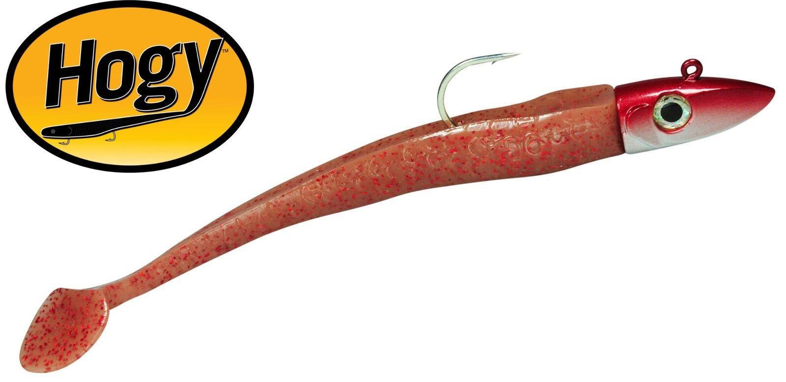Dorschköder Paddle 20cm Gummifisch bone Gummiköder Hogy Twitcher Meeresköder