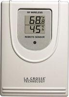 W044-f La Crosse Technology 433 Mhz Wireless Temperature & Humidity Sensor