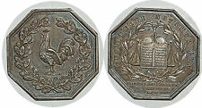 Jeton Notaires de Compiègne 1830  LEROUGE 104 POINCON LAMPE