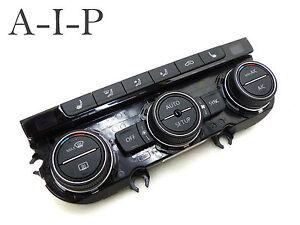 VW-GOLF-7-VII-5g-R-Clima-Control-De-Clima-Panel-AIRE-acon-5g0907044aa-18720