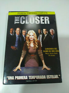 The-Closer-Primera-Temporada-1-Completa-4-x-DVD-Espanol-Ingles