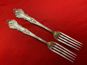Charter-Oak-1847-Rogers-Bros-Silverplate-Set-2-Dinner-Gabeln-1906