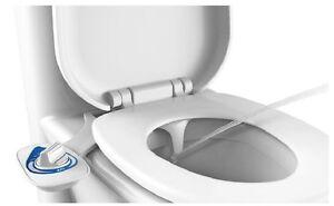 Spa Toilet Seat : Bidet toilet seat attachment fresh water spray non electric nozzle