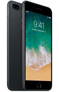Apple iPhone 7 Plus - 128GB - Black - (GSM) Unlocked - 🍎