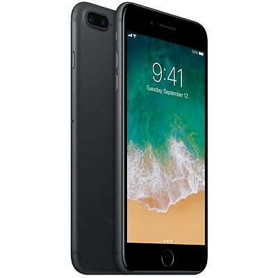 Apple iPhone 7 Plus - 32GB - Black (Factory GSM Unlocked; AT&T / T-Mobile)