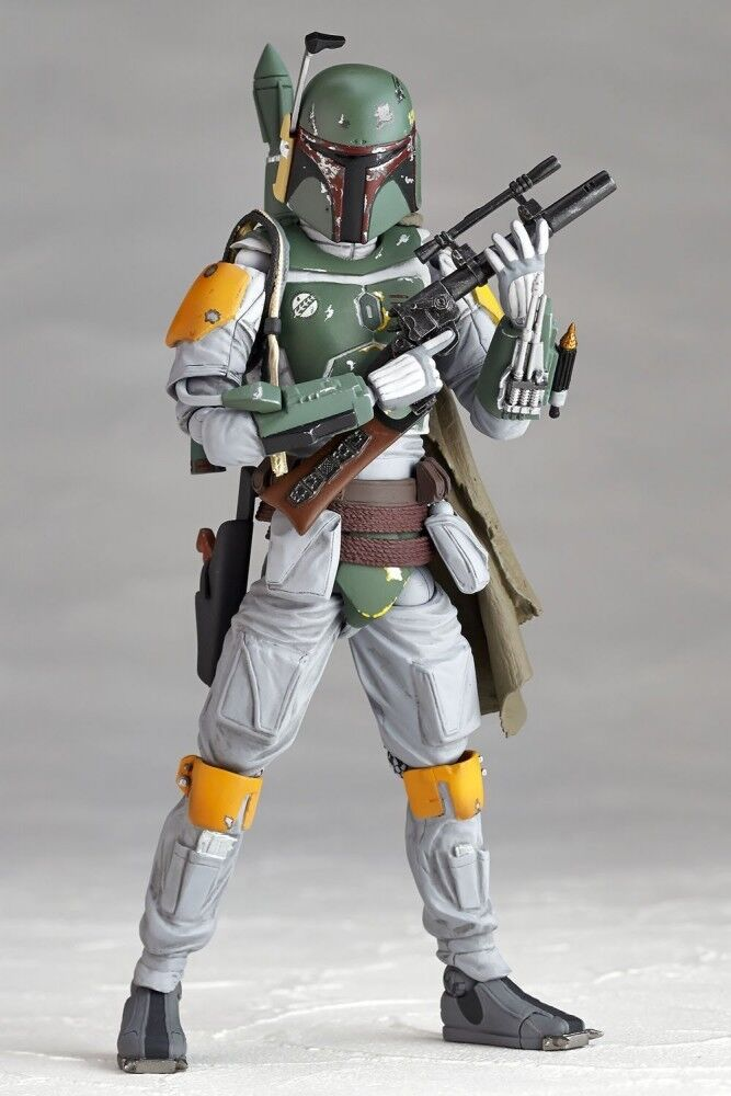 Figure complex kaiyodo Star Wars Boba Fett action figure JAPAN