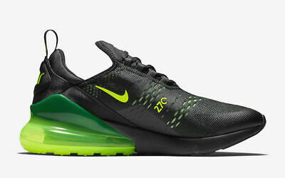 Nike Air Max 270 Black Volt Oil Grey AH8050 017 Sepsale