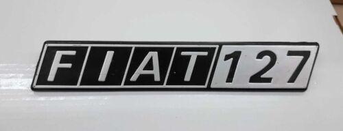 """FIAT /""""FIAT 127/"""" STEMMA SIGLA LOGO TARGHETTA BADGE EMBLEMA FREGIO"""