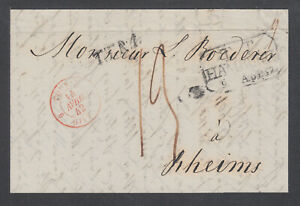 Russia-1842-Stampless-SFL-MOSCOW-REIMS-via-Hamburg-by-Forwarding-Agent