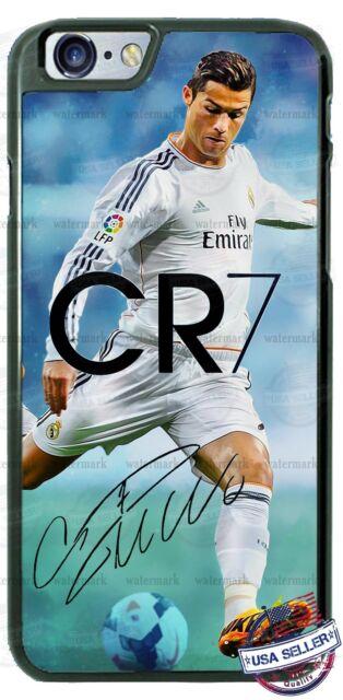 Cristiano Ronaldo Cr7 Signature Real Madrid Phone Case fits iPhone Samsung etc.