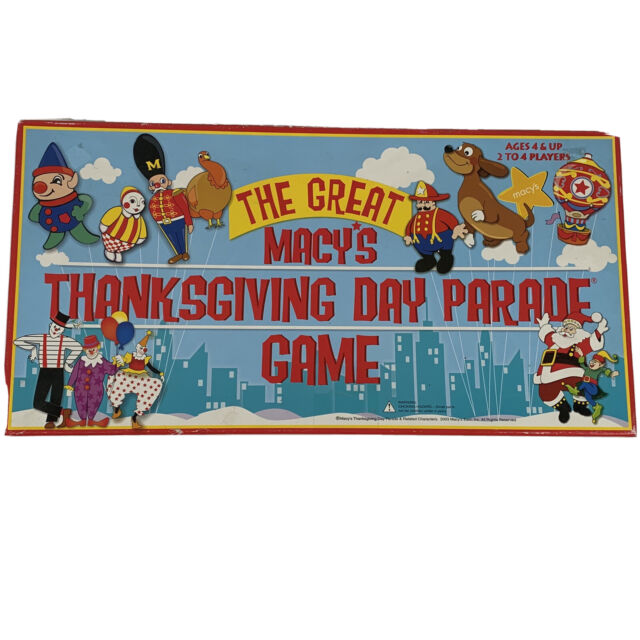 The Great Macy's Thanksgiving Day Parade Board Game 2003 ...