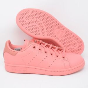 7d356aa9efa45 Adidas Stan Smith J CP9809 Big Kids Athletic Shoes Tactile Rose