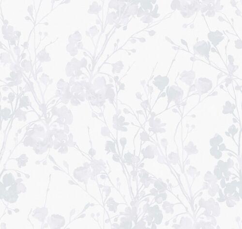 Tapete Smita Sherazade SH 20060 Floral Creme Grau Glänzend 5,63 €//qm