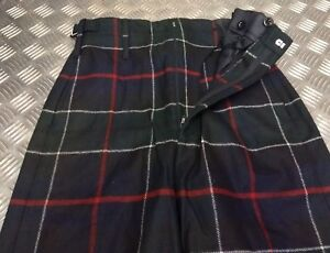 British-Army-Scottish-Regimental-Trews-Leslie-or-Mackenzie-Seaforth-Tartan