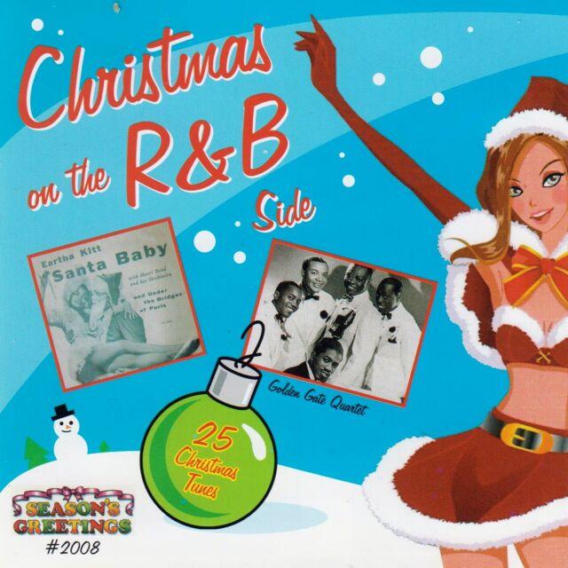 Christmas on the R&B Side by VA (CD 2008, Seasons Greetings, OOP, Like NEW)