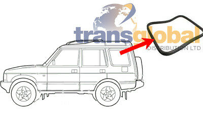 LAND ROVER REAR QUARTER GLASS WINDOW WEATHERSTRIP SEAL DISCOVERY 1 AWR5388