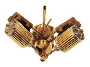 Double-cylindre-marine-moteur-a-vapeur-entierement-usine-Kit-8-m